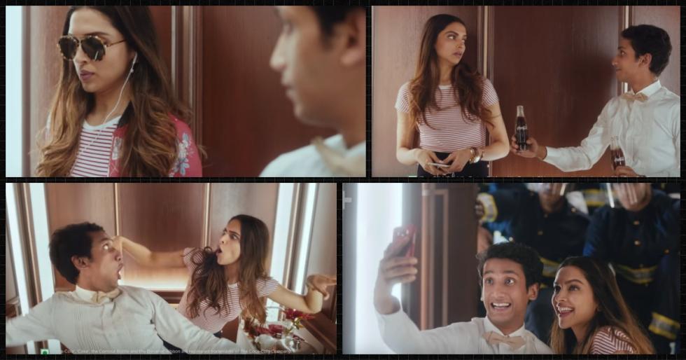 Coca Cola Deepika Ad