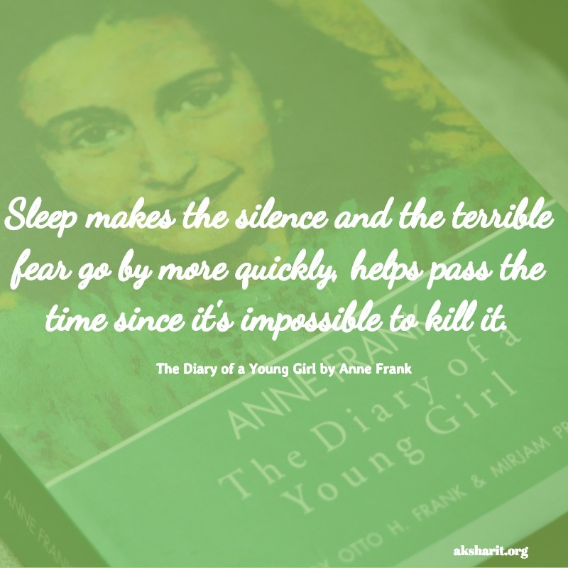 The Diary of a Young Girl by Anne Frank quotes 4