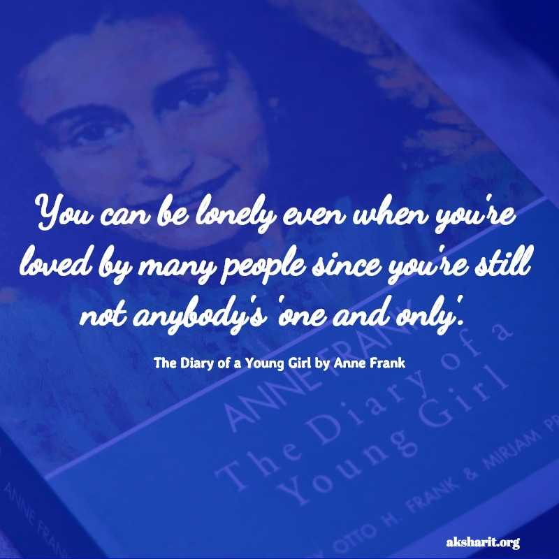 The Diary of a Young Girl by Anne Frank quotes 5