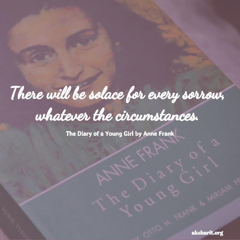 The Diary of a Young Girl by Anne Frank quotes 6