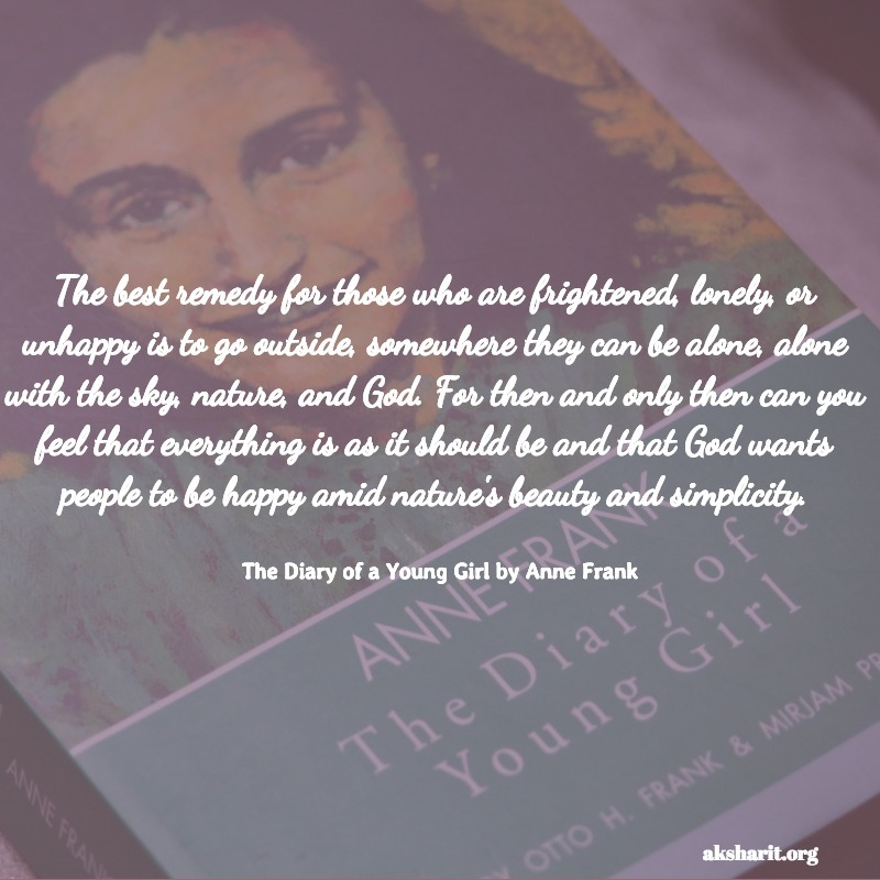 The Diary of a Young Girl by Anne Frank quotes 9