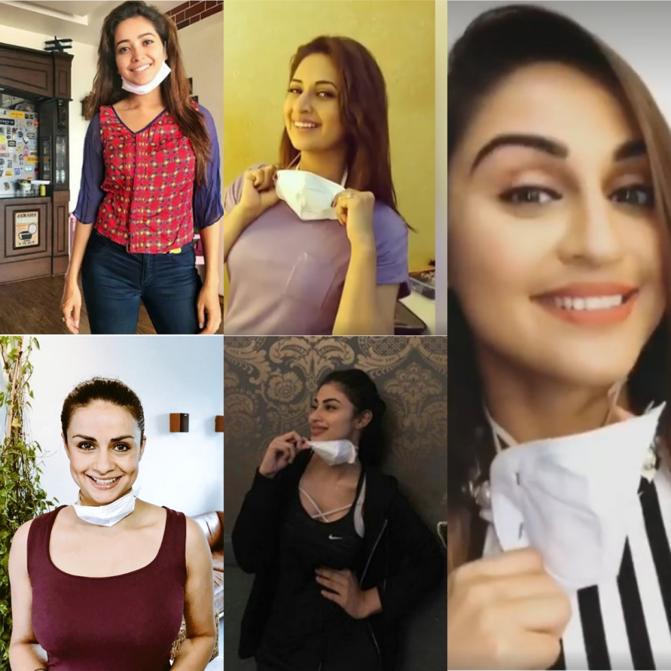TV Actresses Asian Paints Campaign Deepika Padukone Ad Mask