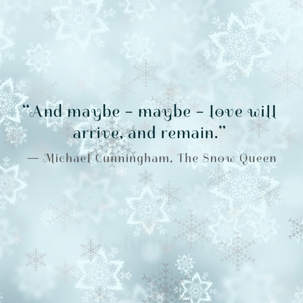 1 Michael Cunningham The Snow Queen
