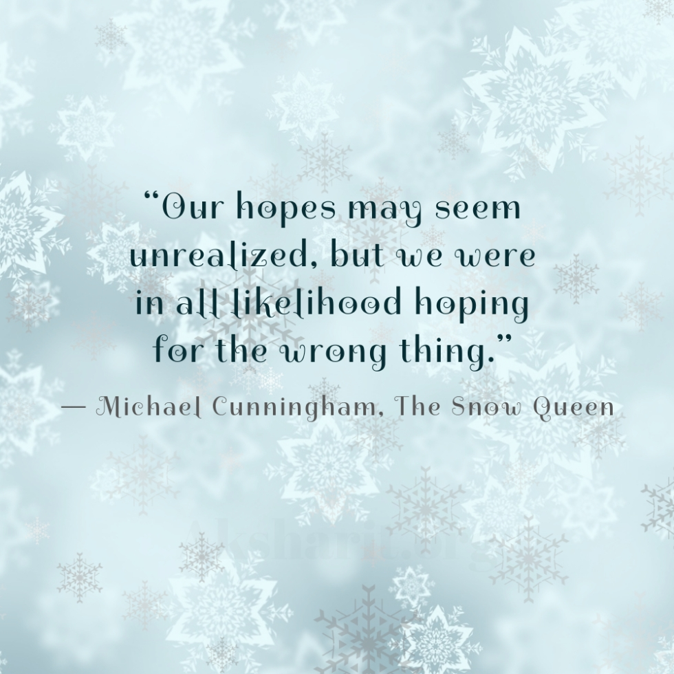 2 Michael Cunningham The Snow Queen