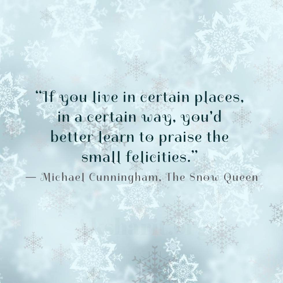 3 Michael Cunningham The Snow Queen