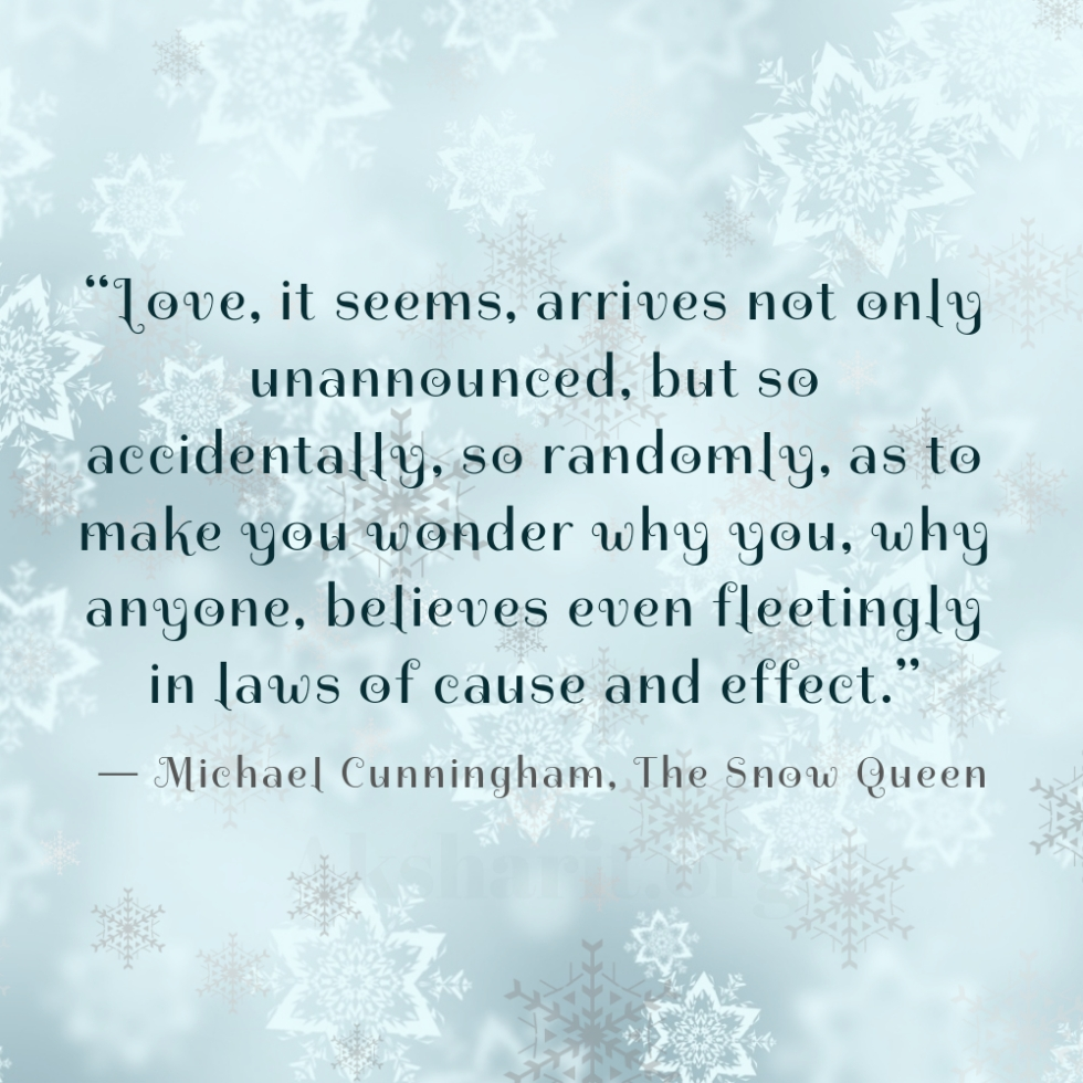 4 Michael Cunningham The Snow Queen