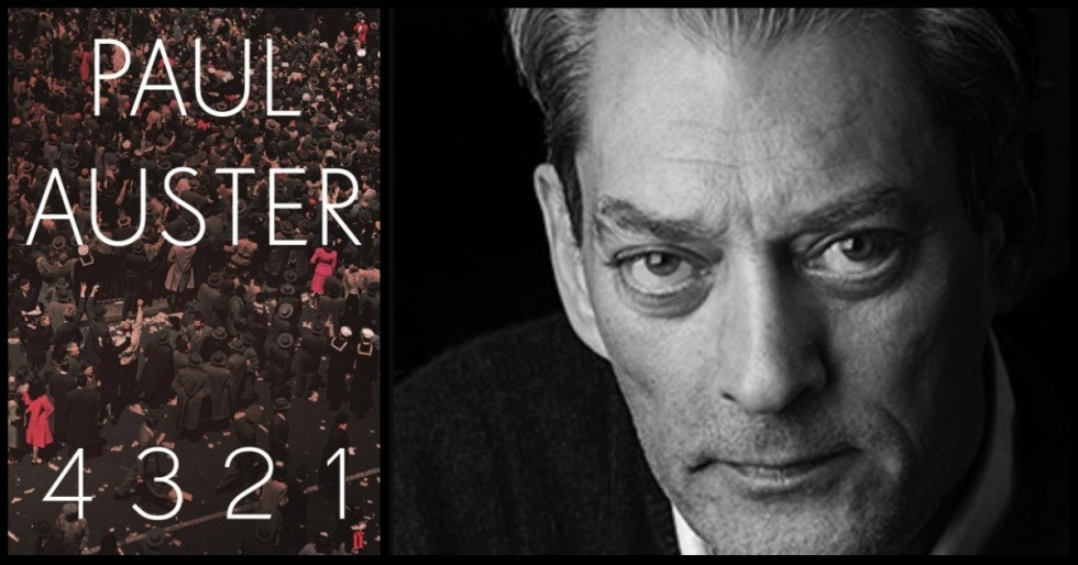 4321by Paul Auster (Faber Faber)