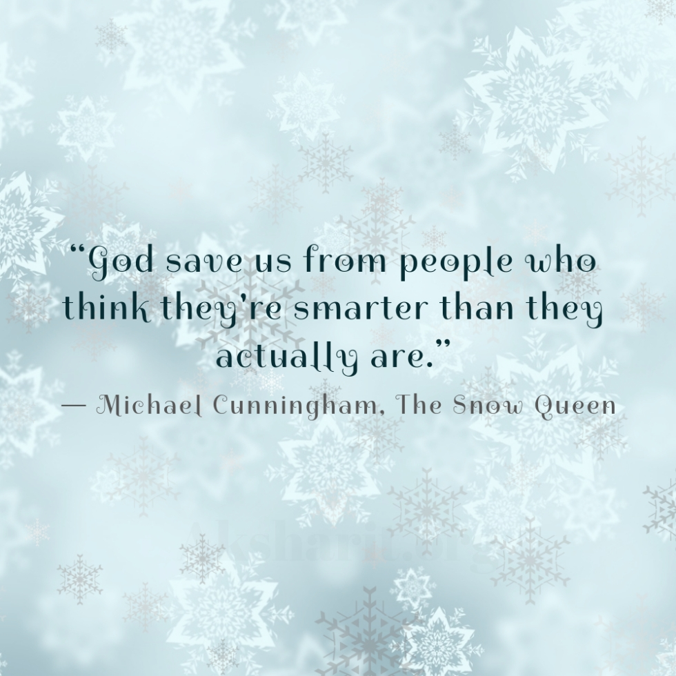 5 Michael Cunningham The Snow Queen