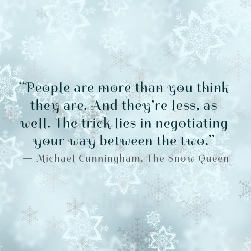 8 Michael Cunningham The Snow Queen