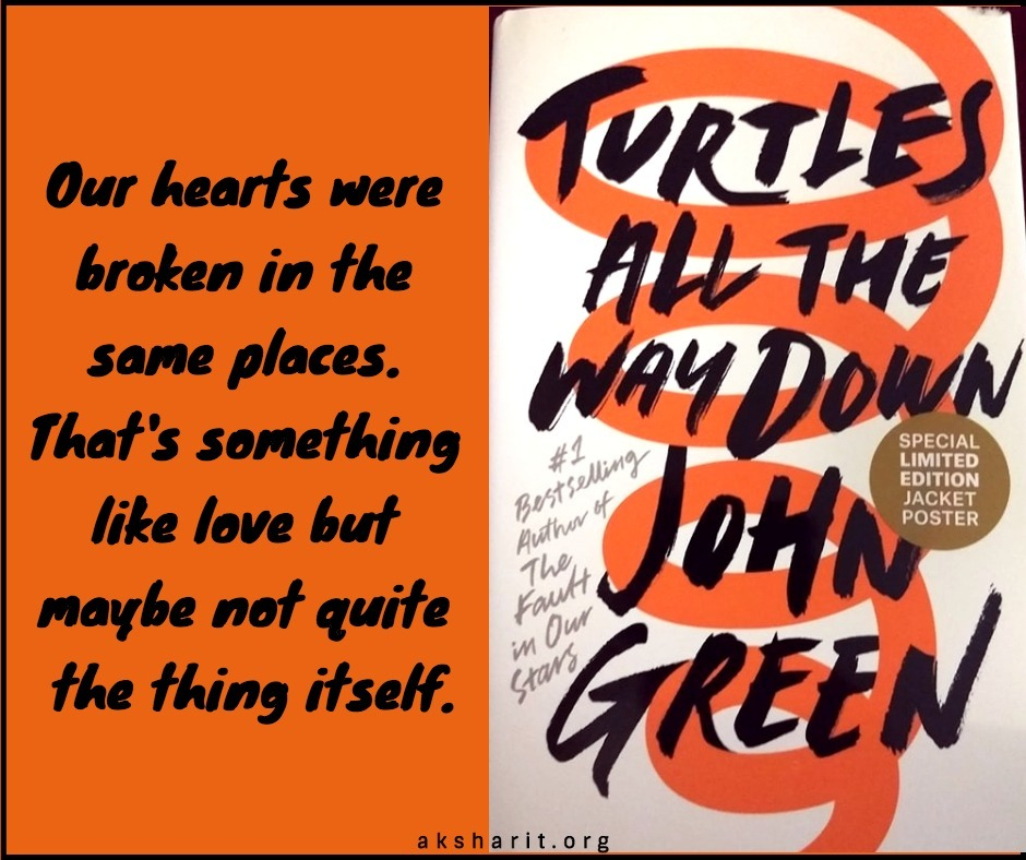 13 Turtles all the way down by John Green Quotes