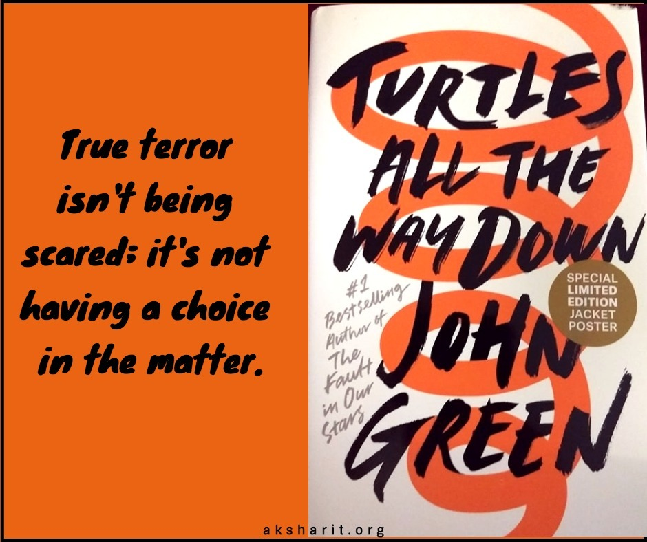 3 Turtles all the way down by John Green Quotes