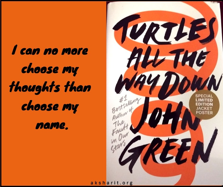 6 Turtles all the way down by John Green Quotes