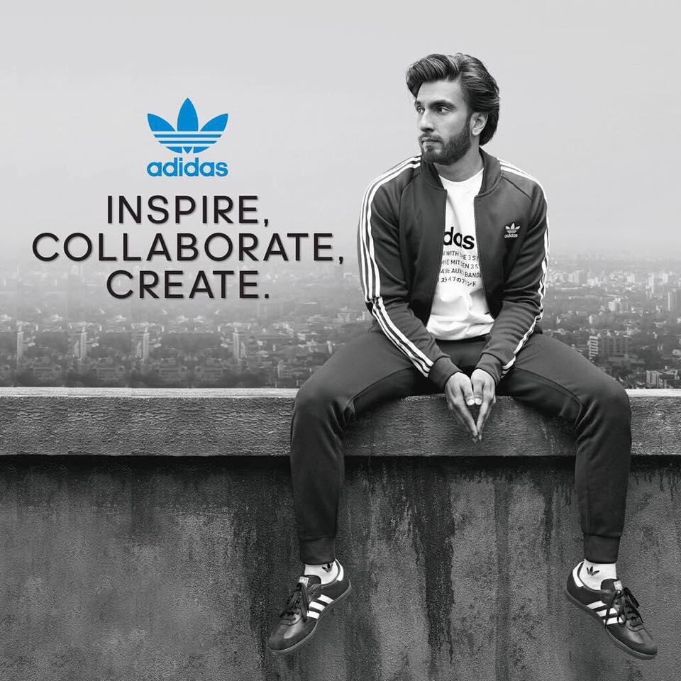 Ranveer Singh Adidas Advertisement