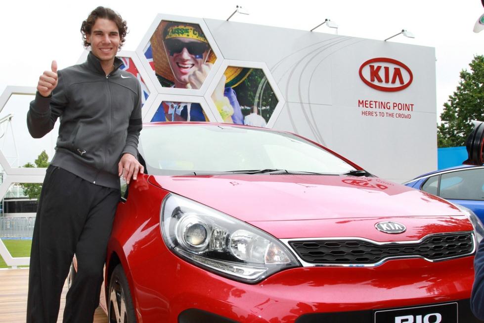 Kia Motors Rafael Nadal Brand Endoresements sponsorship