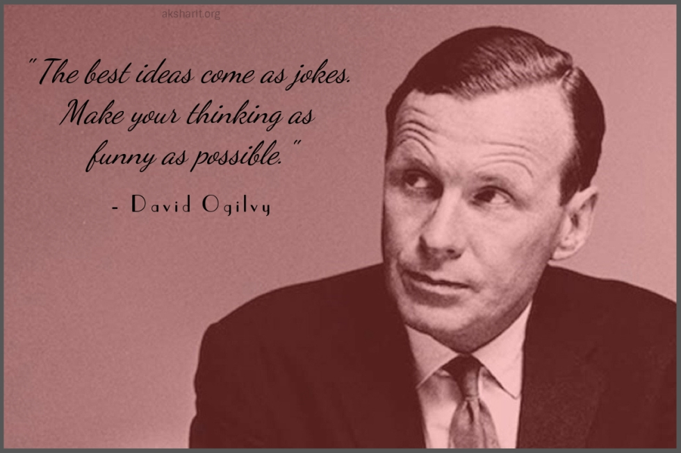 David Ogilvy Quotes Impressive David Ogilvy's Quotes On Advertising