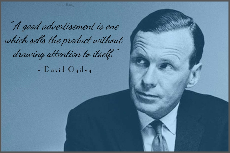 4 David Ogilvy Quotes on Advertising Best Lines Famous Popular Quotes from David Ogilvy