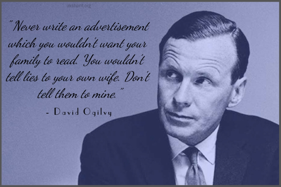 5 David Ogilvy Quotes on Advertising Best Lines Famous Popular Quotes from David Ogilvy