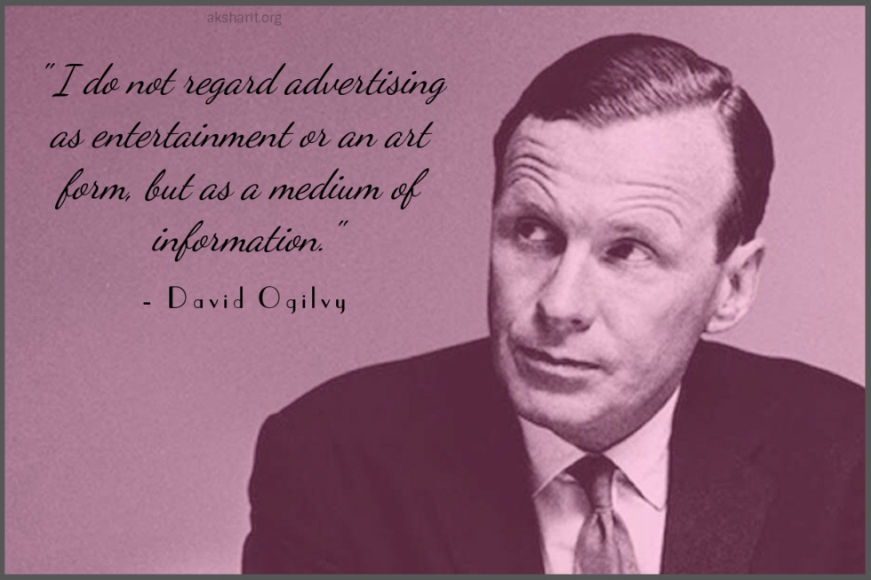 6 David Ogilvy Quotes on Advertising Best Lines Famous Popular Quotes from David Ogilvy