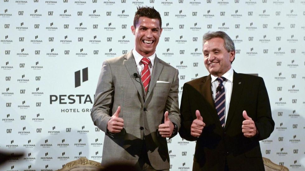 Pestana CR7 Brands Endorsed By Cristiano Ronaldo Endorsements Sponsors